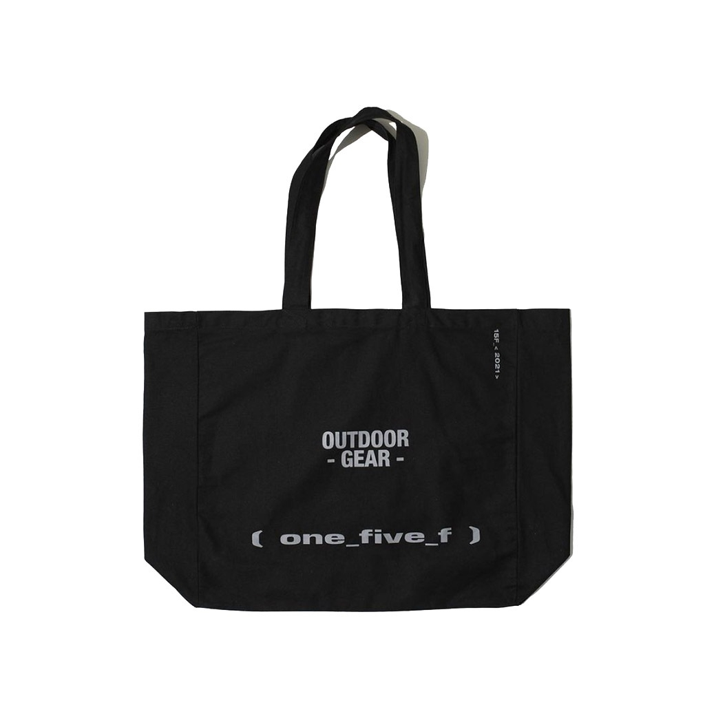 15F OUTDOOR GEAR OVERSIZED TOTE BAG BLACK