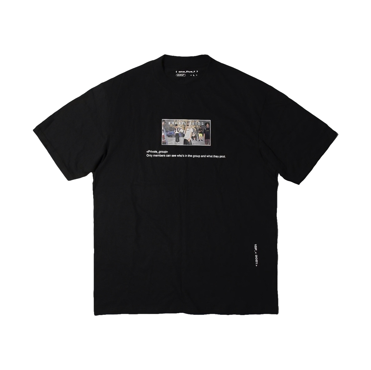 15F HOMIES T-SHIRT BLACK