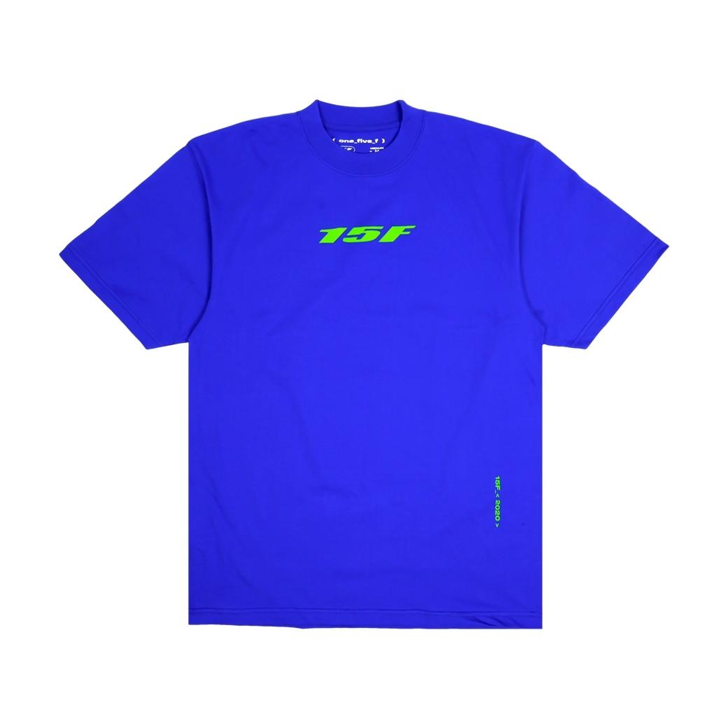 15F BASIC VER.02 T-SHIRT BLUE