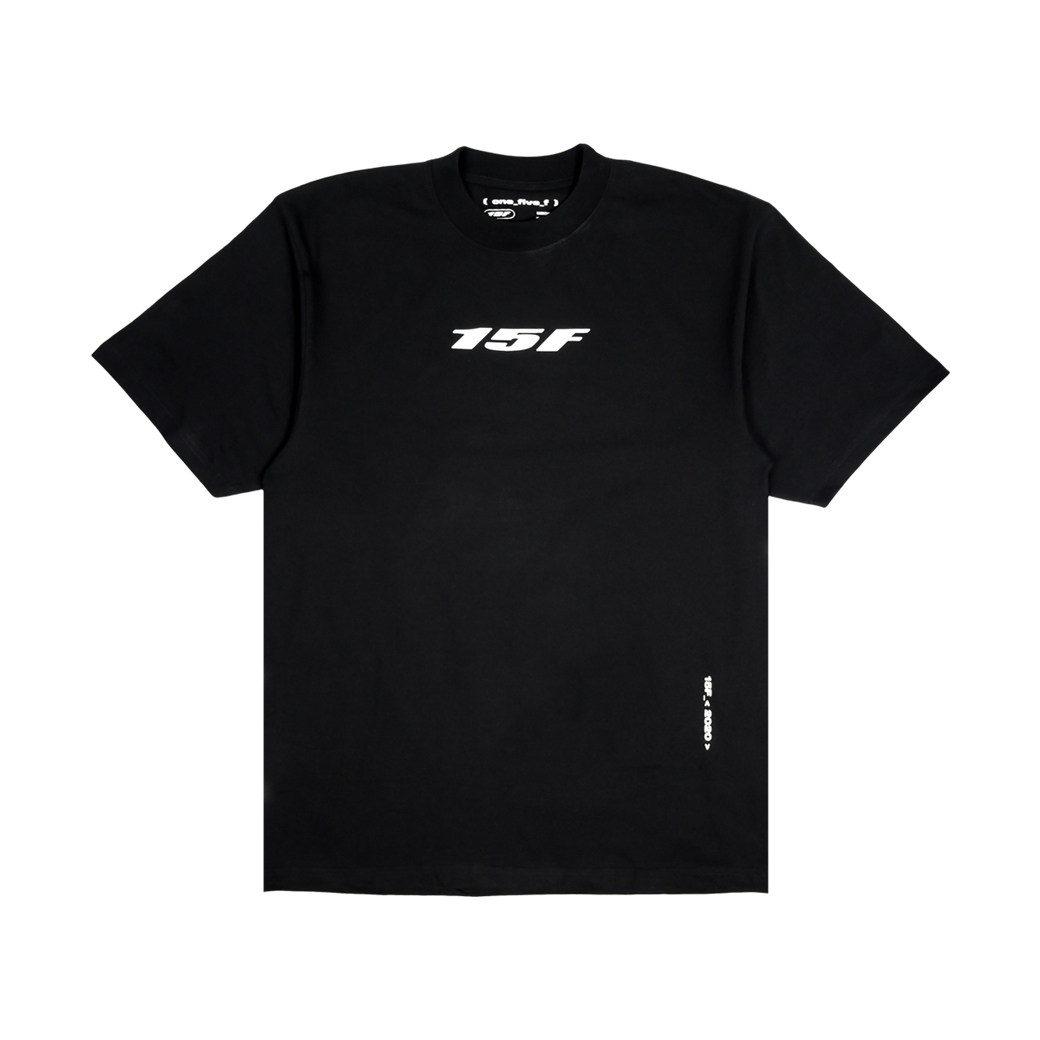 15F BASIC VER.02 T-SHIRT BLACK