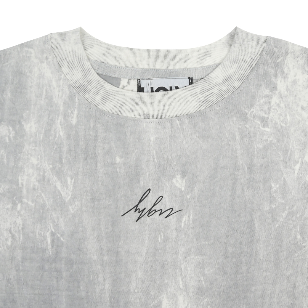 2MANYUGLYCLOTHES DIRTY JO T-SHIRT WHITE