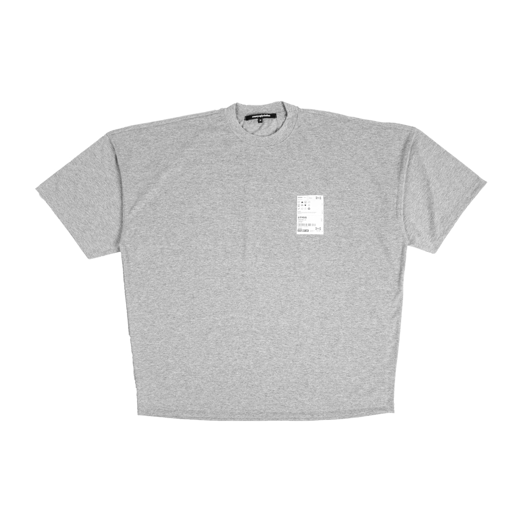 2MANYUGLYCLOTHES SO CALL WINTER TEE GREY