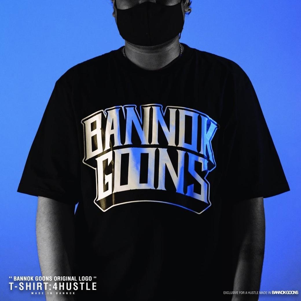 BANNOK GOONS 4 HUSTLE T-SHIRT BLACK