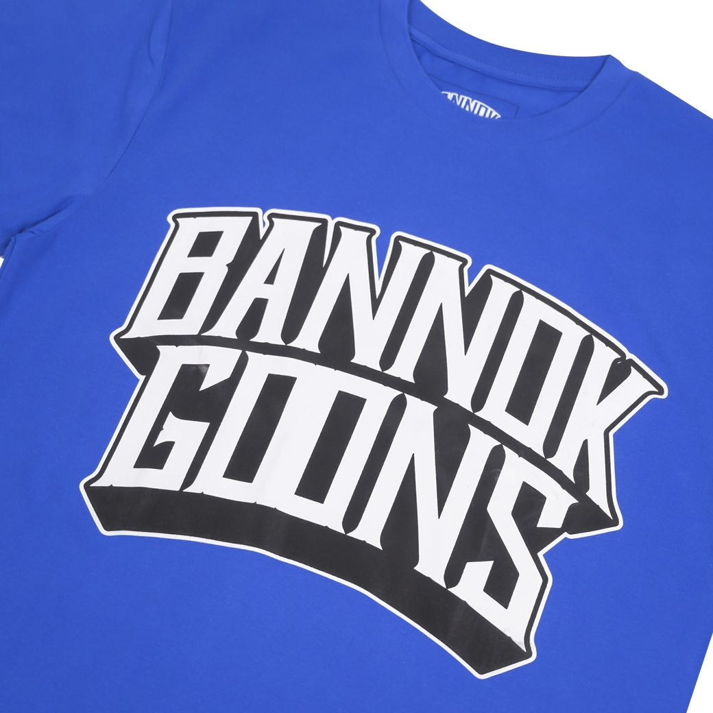 BANNOK GOONS 4 HUSTLE T-SHIRT BLUE