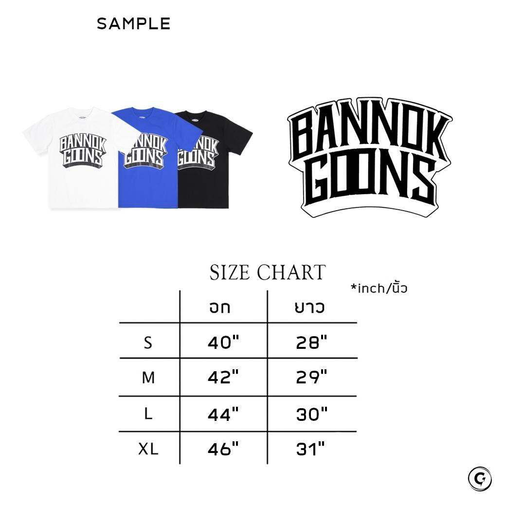 BANNOK GOONS 4 HUSTLE T-SHIRT WHITE