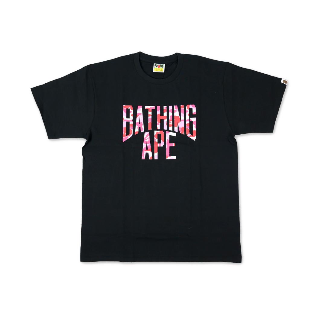 BAPE ABC NYC LOGO TEE BLACK