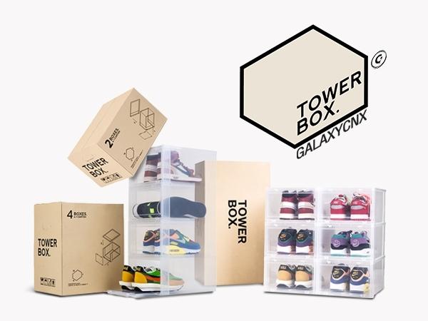 กล่อง TOWER BOX ผลิตมาสำหรับชาวสนีกเกอร์เฮด หรือ นักสะสมรองเท้าโดยเฉพาะ
