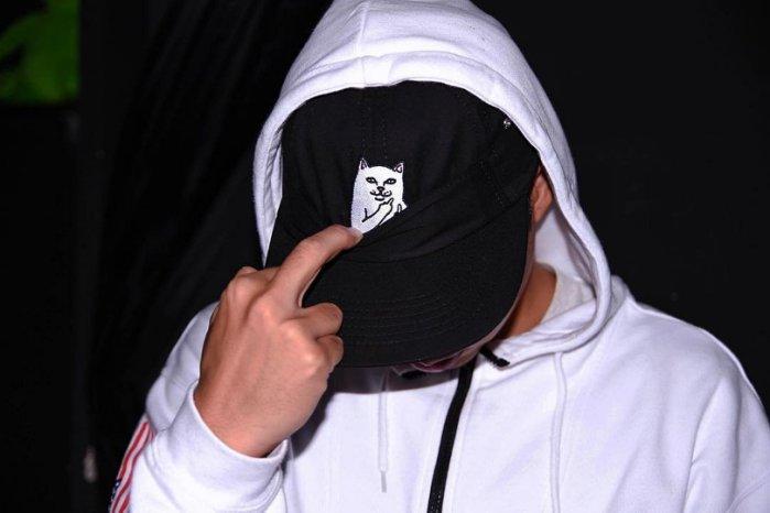 RIPNDIP LORD NERMAL 6 PANEL HAT BLACK