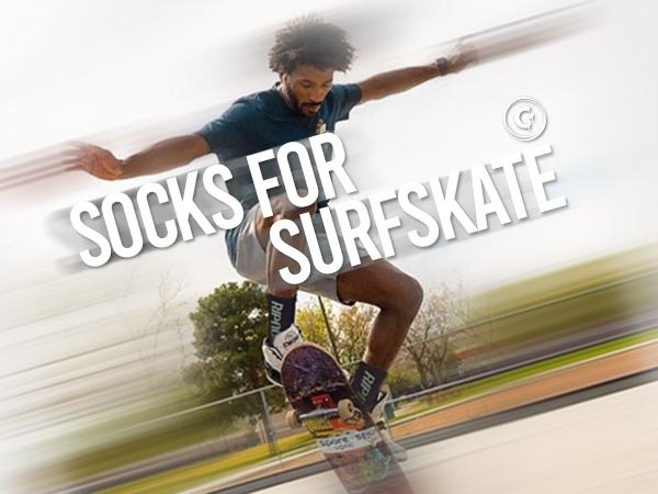 SOCKS FOR SURFSKATE
