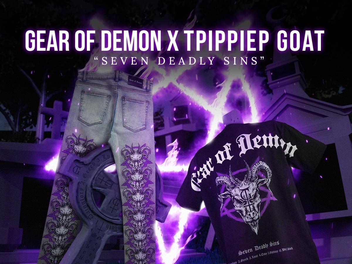 GEAR OF DEMON X TRIPPIE P ORIGINAL GOAT COLLECTION