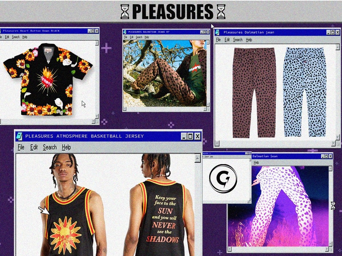 Mini Drop Collection From Pleasures Available Now At GALAXYCNX