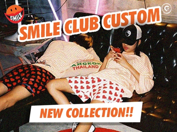 SMILE  CLUB CUSTOM 1st OF 2021 COLLECTION