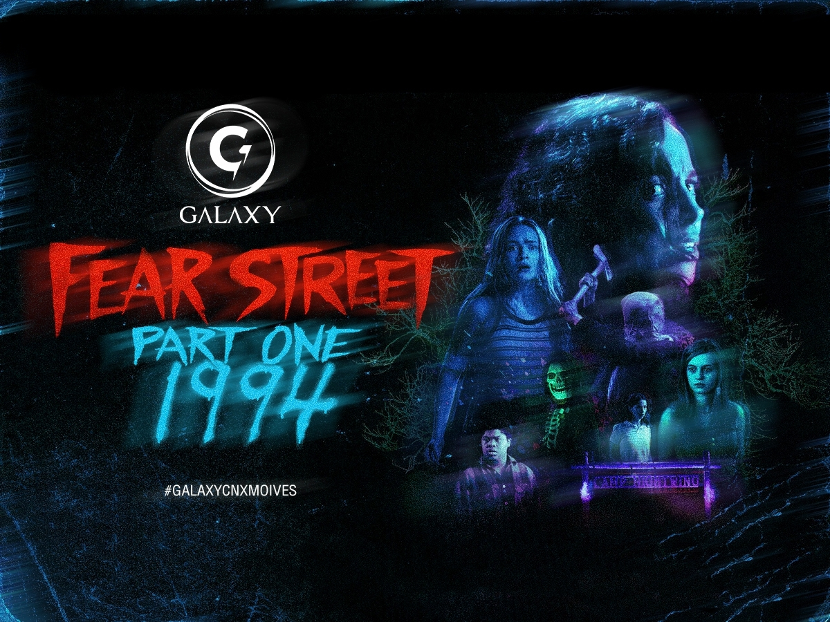 #galaxymovies วันนี้เราจะมาแนะนำหนังใหม่น่าดูกับหนังสยองขวัญไตรภาคอย่าง Fear Street 1994
