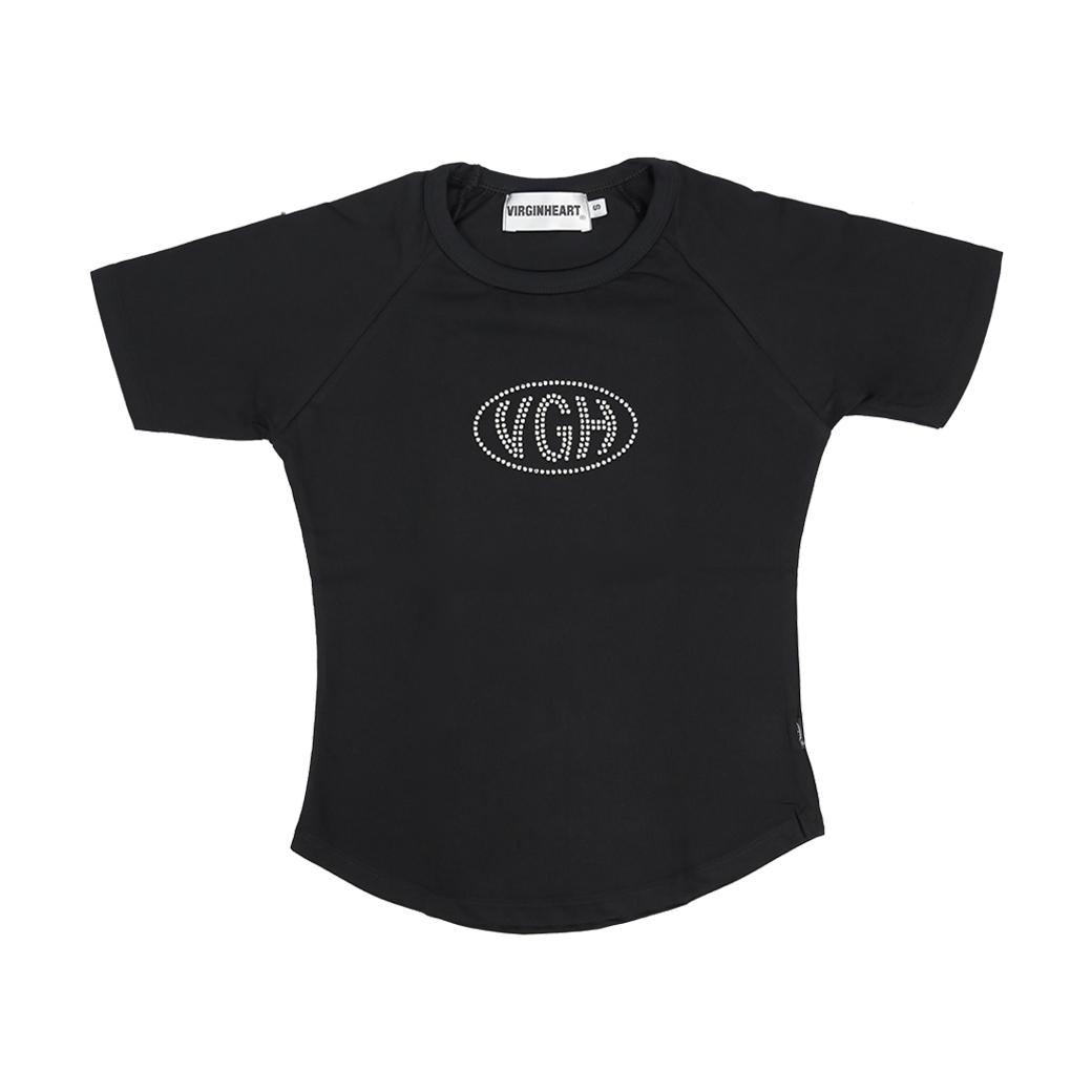 V.G.H DIAMOND BABY T-SHIRT BLACK