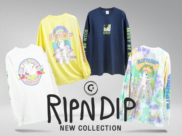NEW COLLECTIONS RIPNDIP !!
