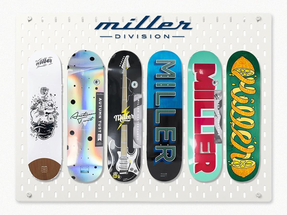 MILLER'S SKATE DECKS COLLECTION