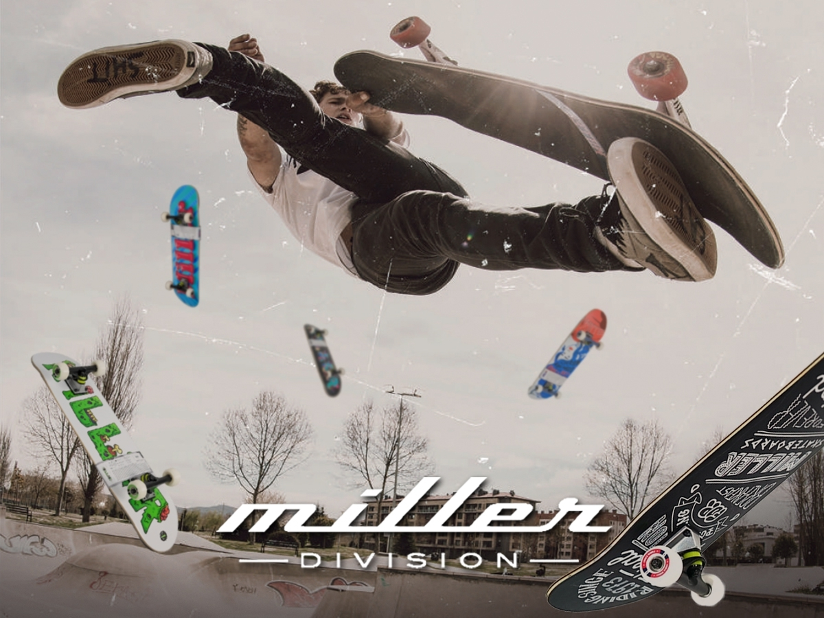 MILLER'S SKATE COMPLETES COLLECTION