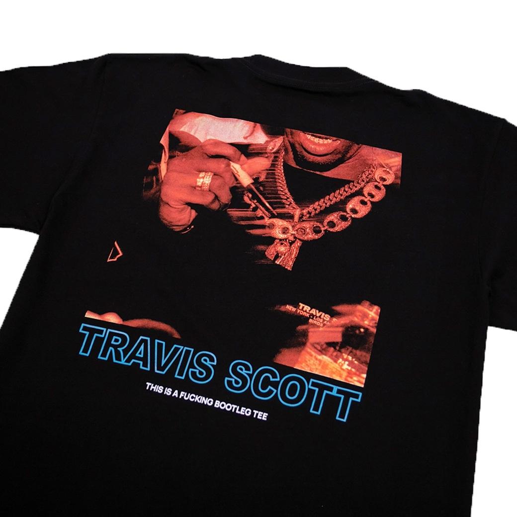 BOOTLEG MANSION TRAVIS SCOTT T-SHIRT BLACK