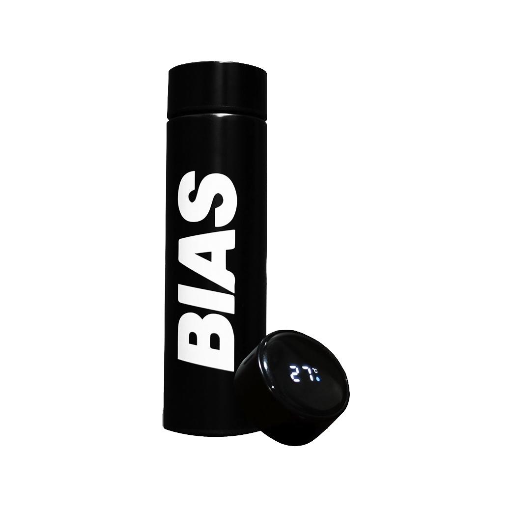 THE BIAS CLUB  TEMPERATURE BOTTLE BLACK