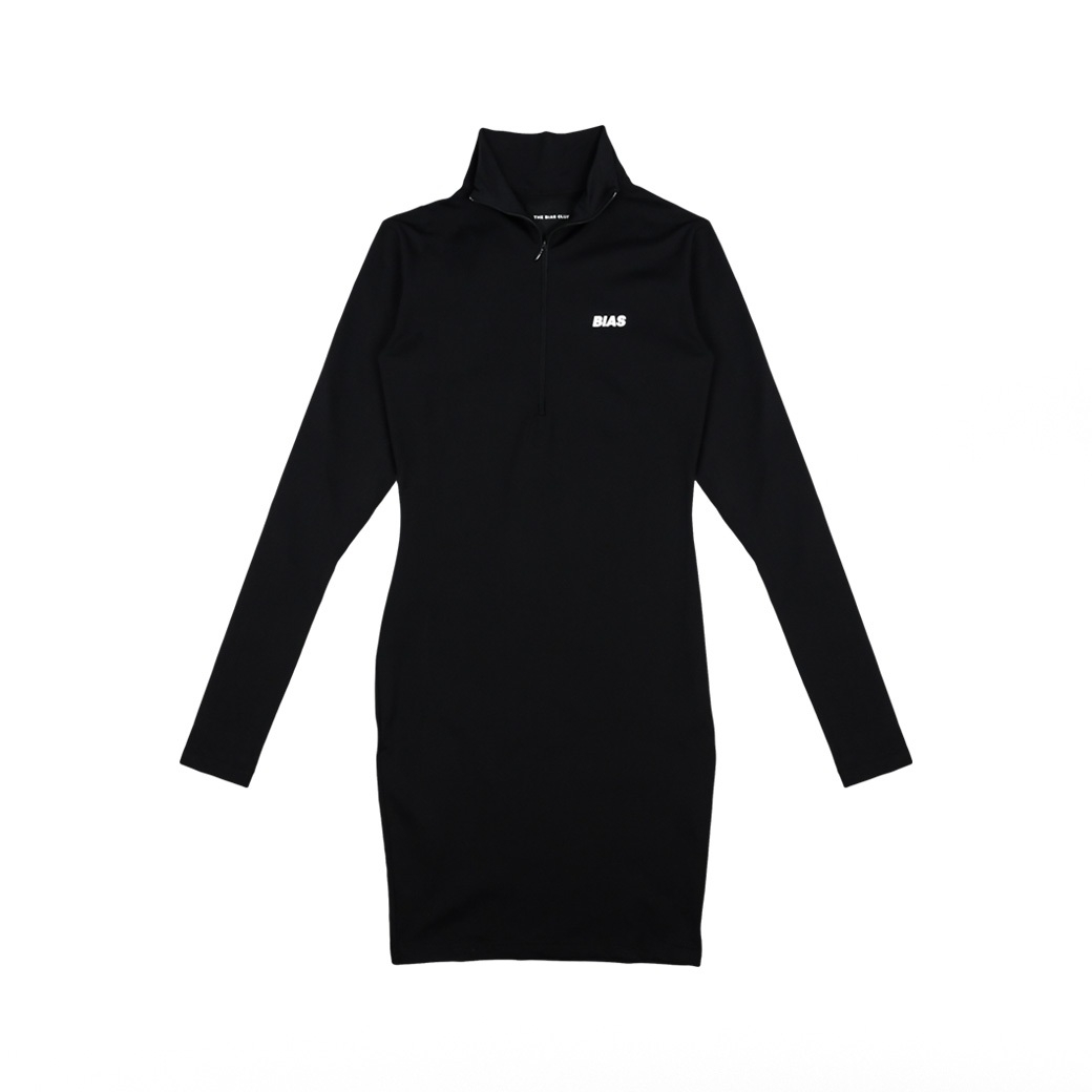 THE BIAS CLUB KNIGHT DRESS BLACK
