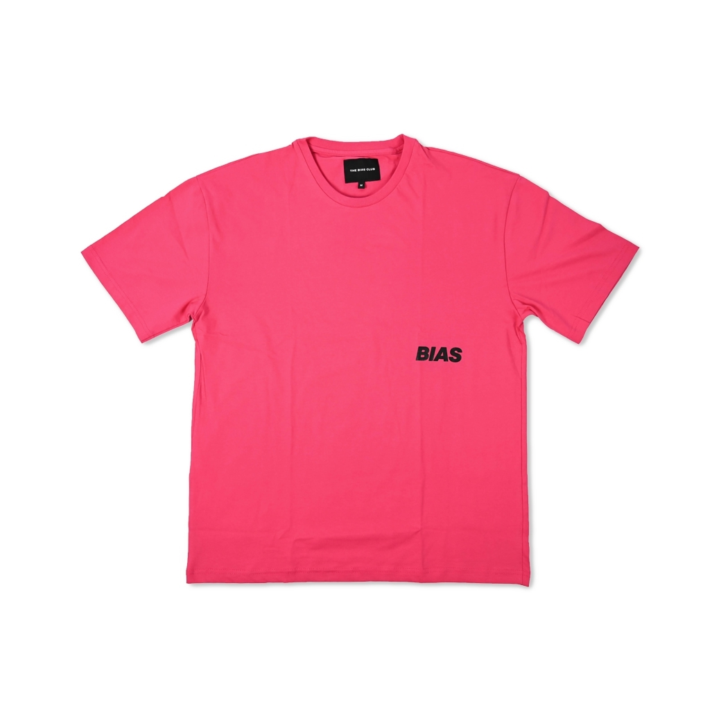 THE BIAS CLUB OVERSIZED TEE NEON PINK