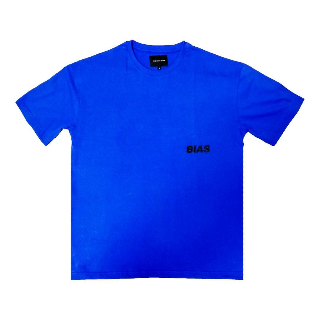 THE BIAS CLUB OVERSIZED TEE BLUE