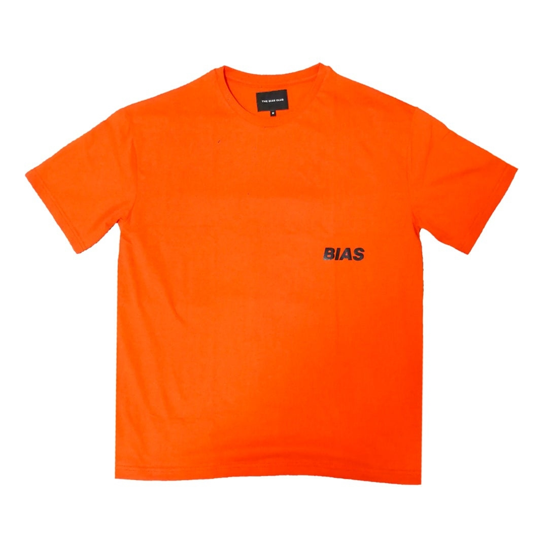 THE BIAS CLUB OVERSIZED TEE ORANGE
