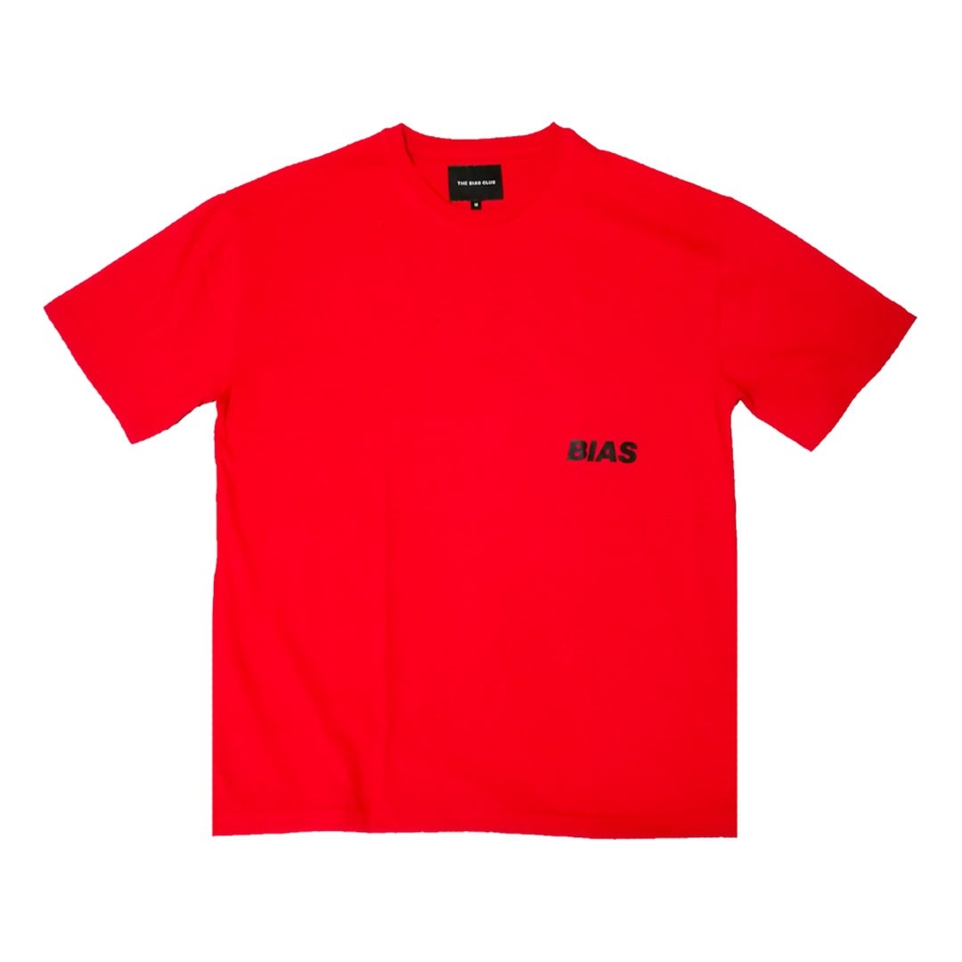 THE BIAS CLUB OVERSIZED TEE RED