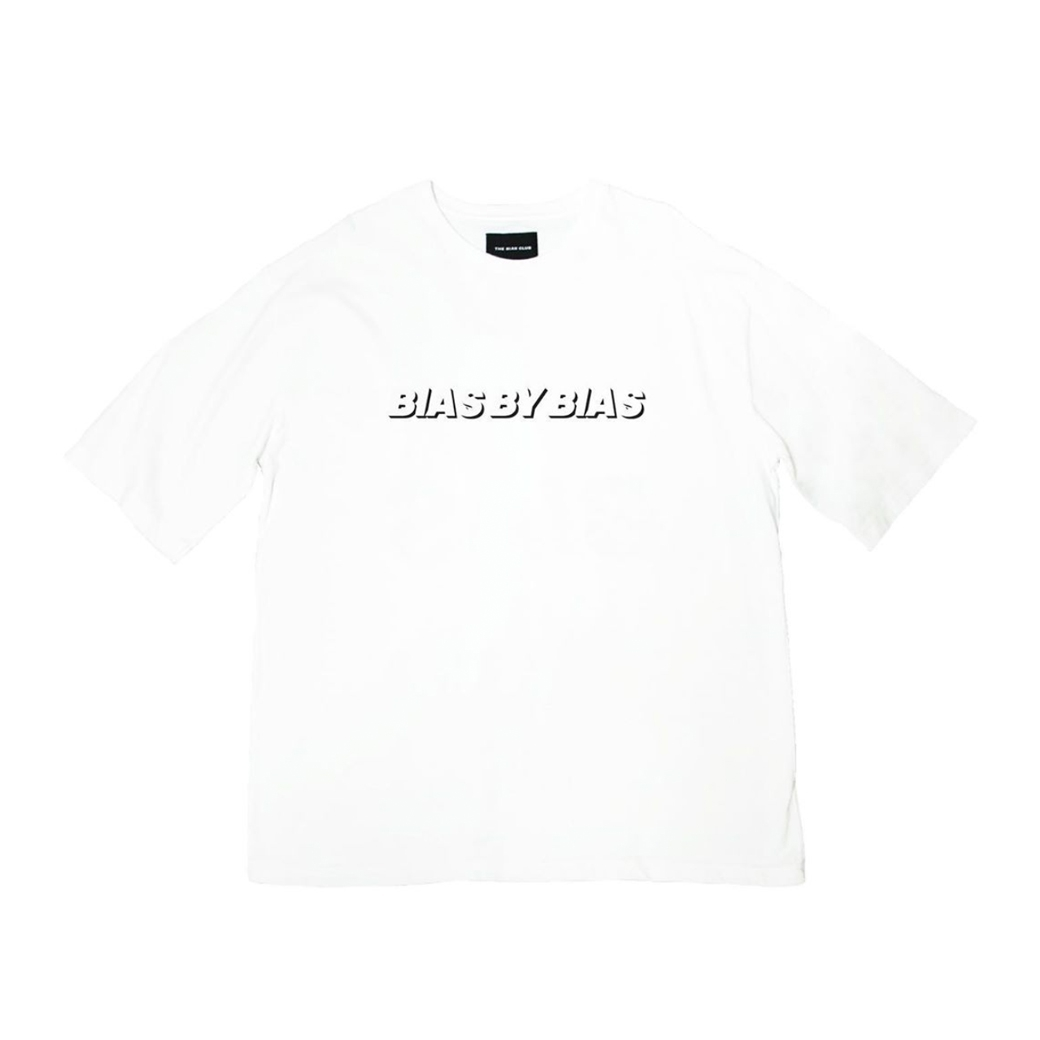 THE BIAS CLUB BIAS BY BIAS TEE WHITE