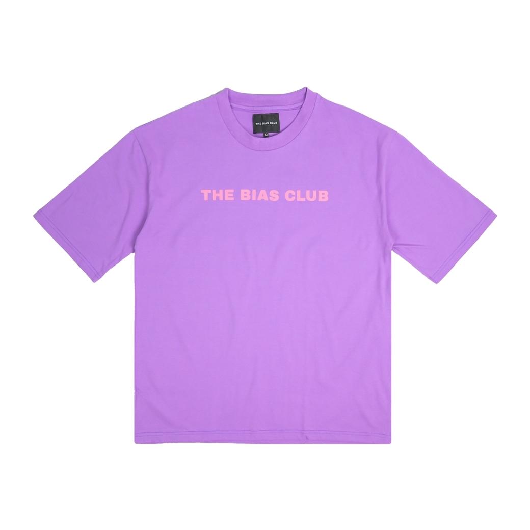 THE BIAS CLUB I LIKE YOU BIAS T-SHIRTS  PURPLE