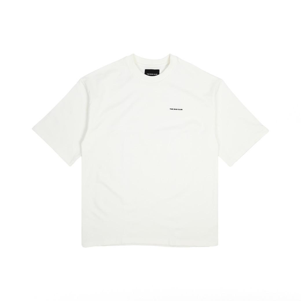 THE BIAS CLUB LOGO T-SHIRTS WHITE