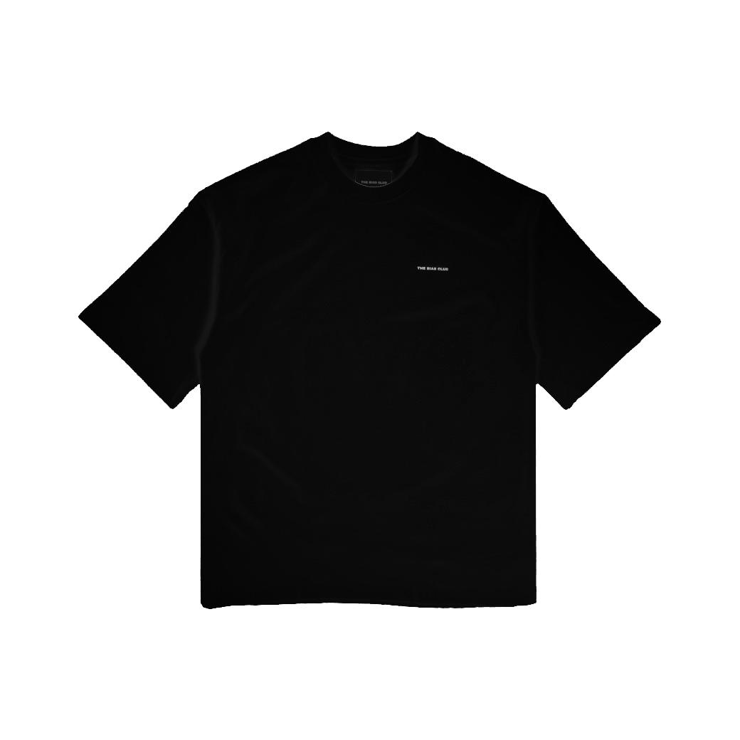 THE BIAS CLUB LOGO T-SHIRT BLACK