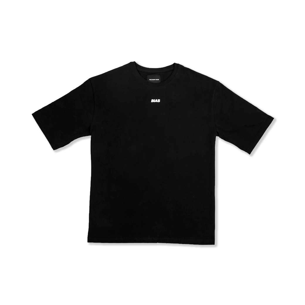 THE BIAS CLUB MID LOGO TEE BLACK