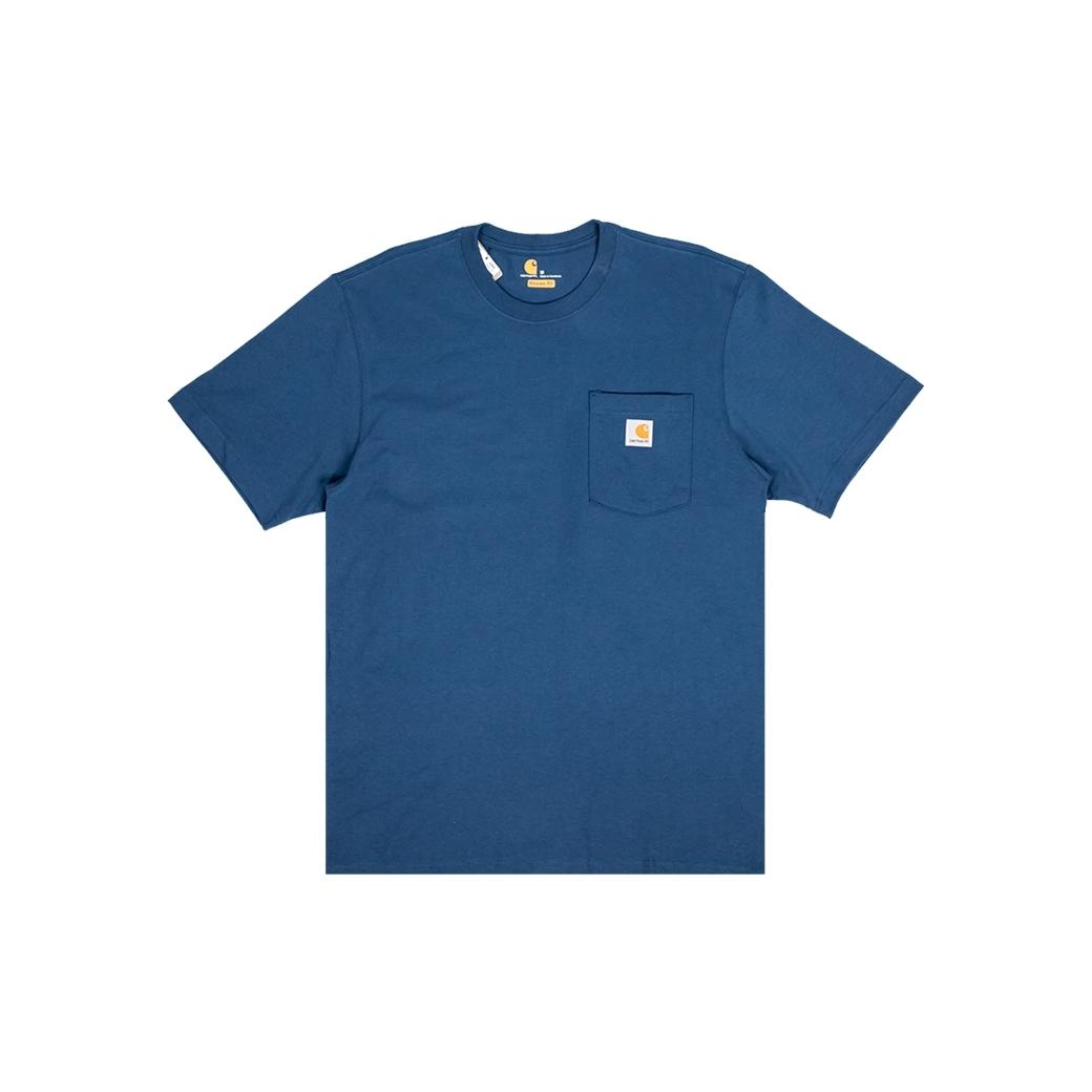 CARHARTT WORKWEAR POCKET TEE  STREAM BLUE (ORIGINAL FIT)