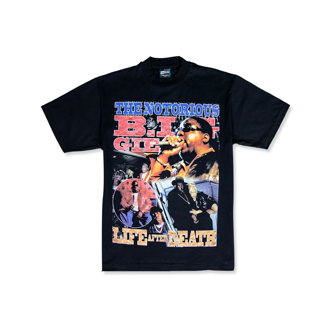 CREATE BOOTLEG NOTORIOUS BIG TEE BLACK