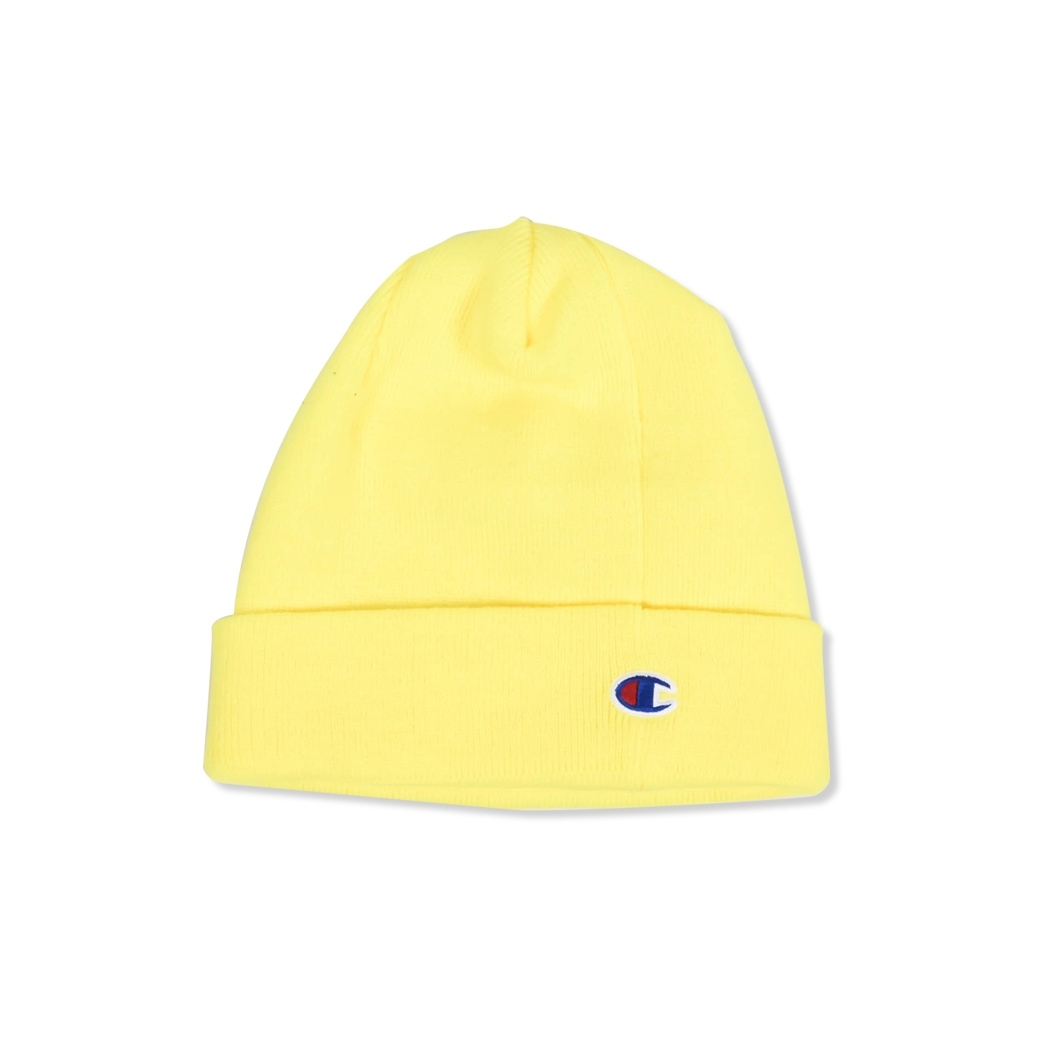 CHAMPION BEANIE WITH POP JOCKTAG OXFORD YELLOW