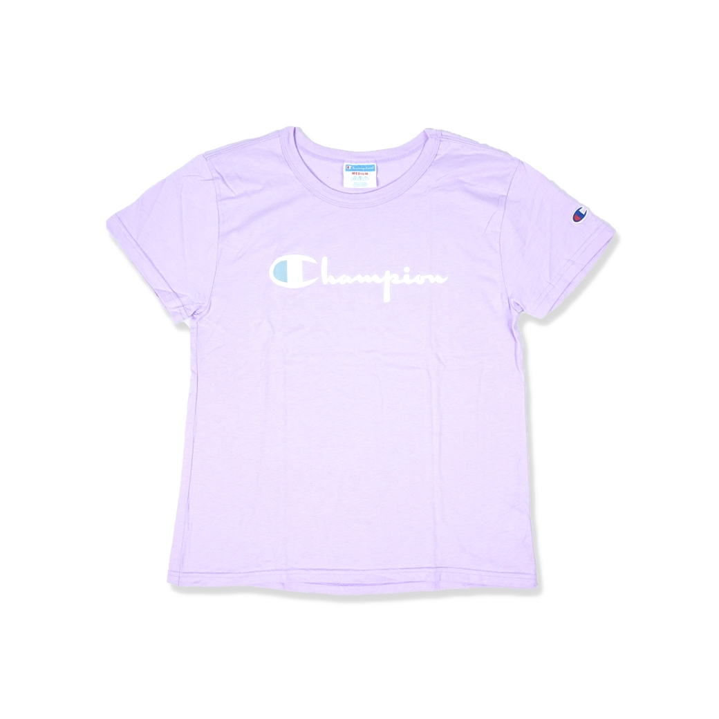 CHAMPION WOMEN GT92 TEE PALE VIOLET ROSE