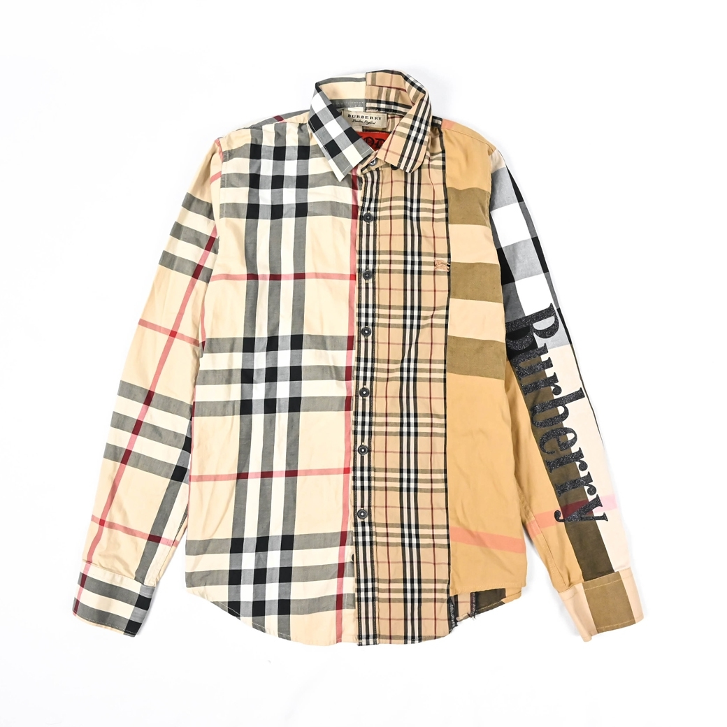 DIOD NO.18 VTG CUSTOM REWORKED BURBERRY SHIRT