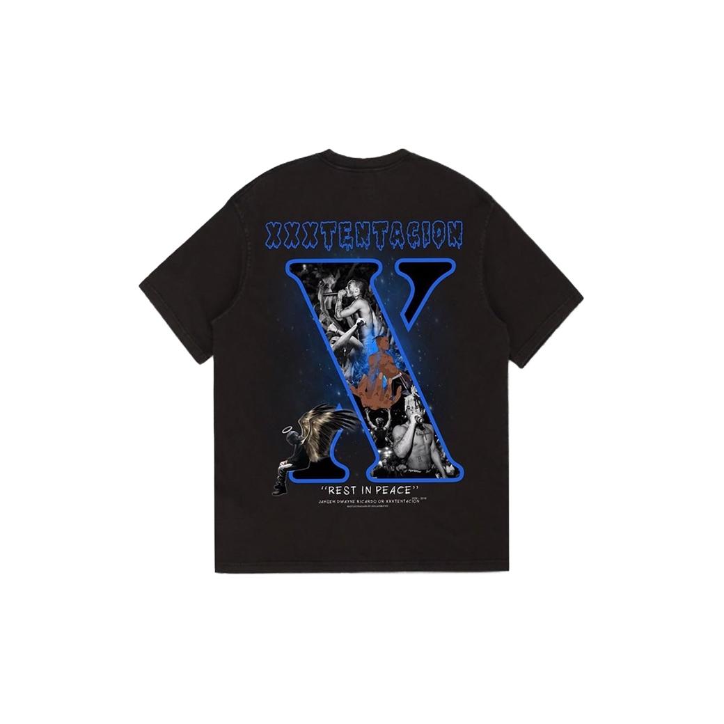 DOLLAR$฿ATH XXXTENTACION T-SHIRT BLACK