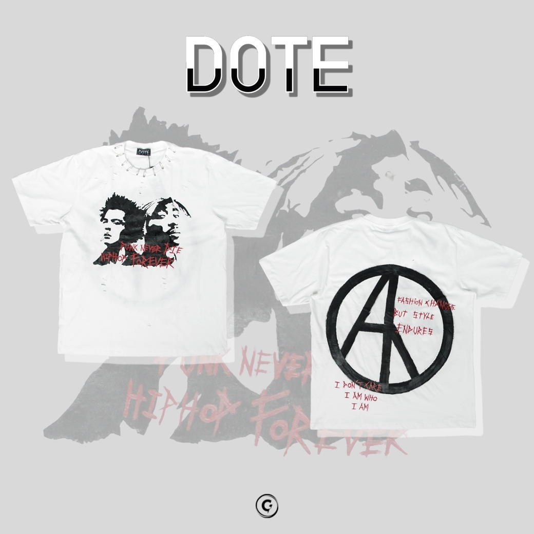 DOTE DIE FOREVER CUSTOM DISTRESSED TEE