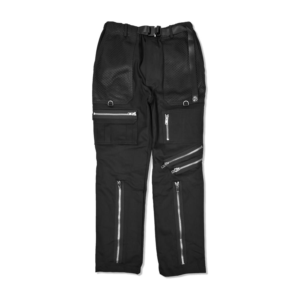 DOTE CHOTIC OUT BONDAGE PANTS BLACK