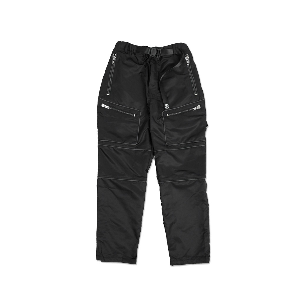 DOTE FUTURE REFLEX PANTS BLACK
