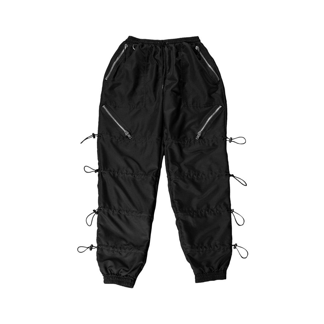 DOTE THE RACK STOPPER PANTS BLACK