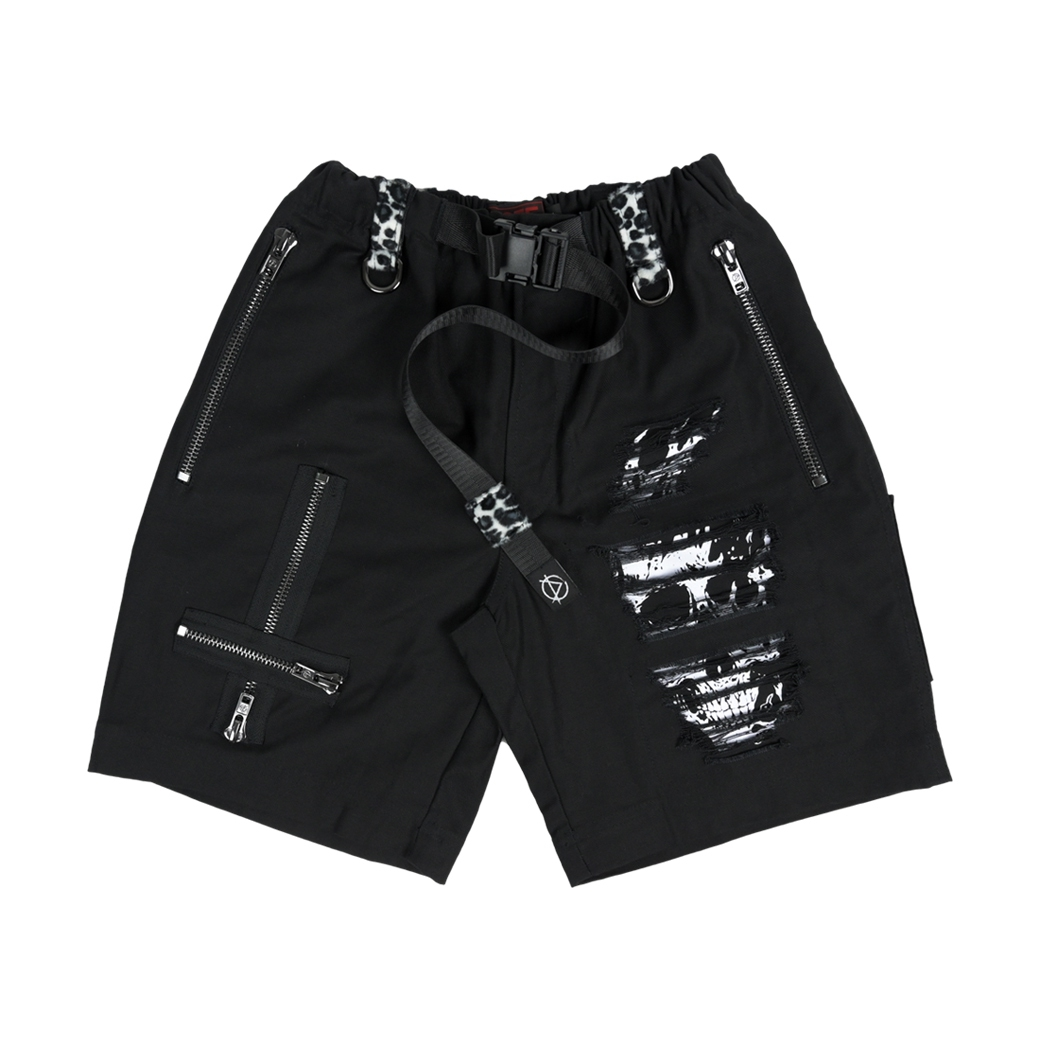 DOTE HOT AS HELL SHORTS BLACK