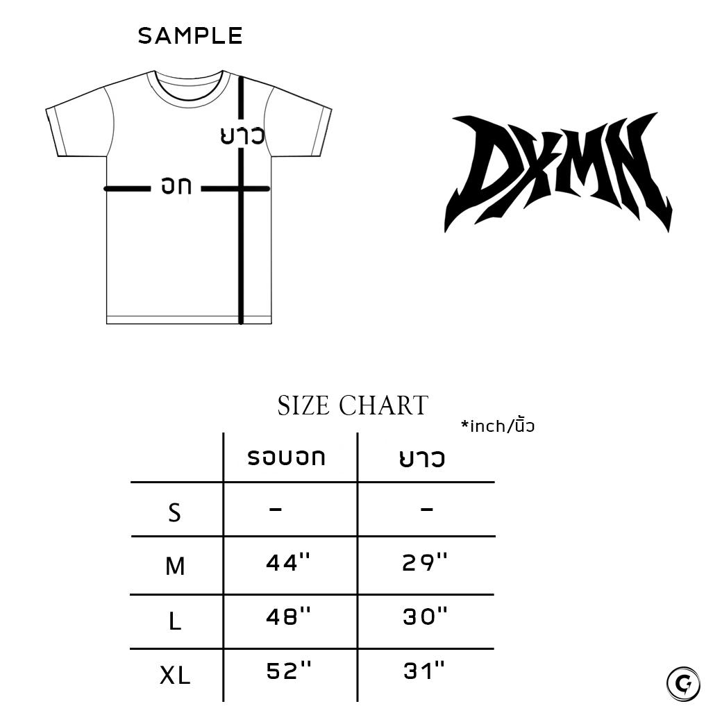 DXMN THORN FROM DXMN TEE BLACK