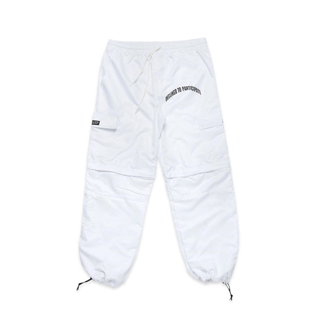 DEEP TO PARTICIPATE 2IN1 PANTS WHITE