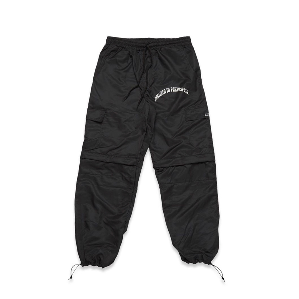 DEEP TO PARTICIPATE 2IN1 PANTS BLACK