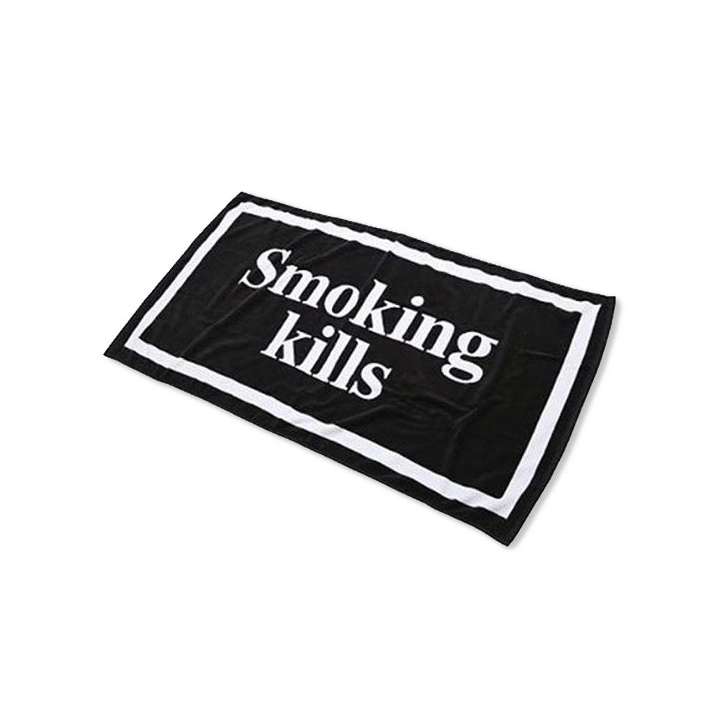 FR2 SMOKING KILLS BATH TOWEL BLACK