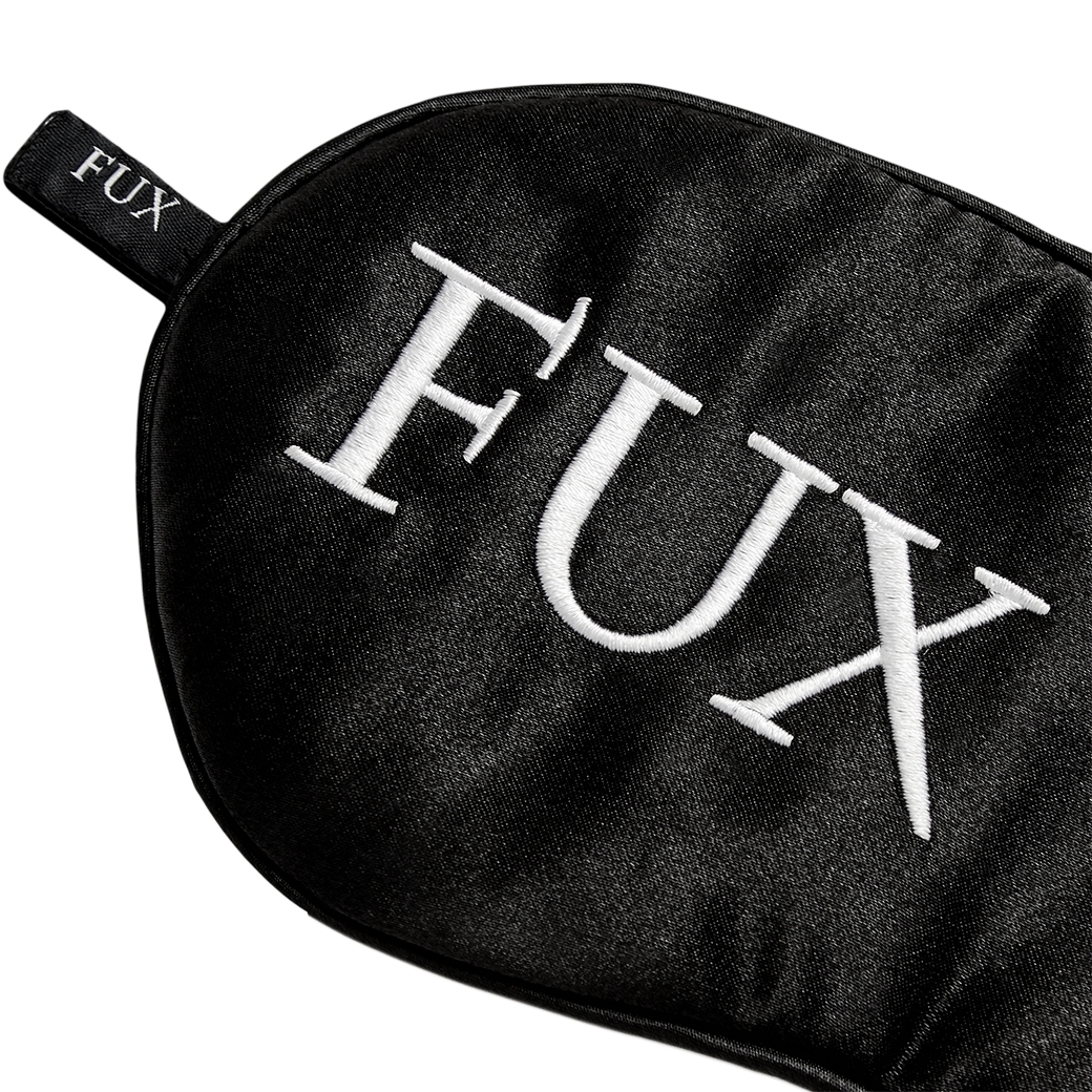 FUXURY FUX OFF SLEEPING MASK BLACK