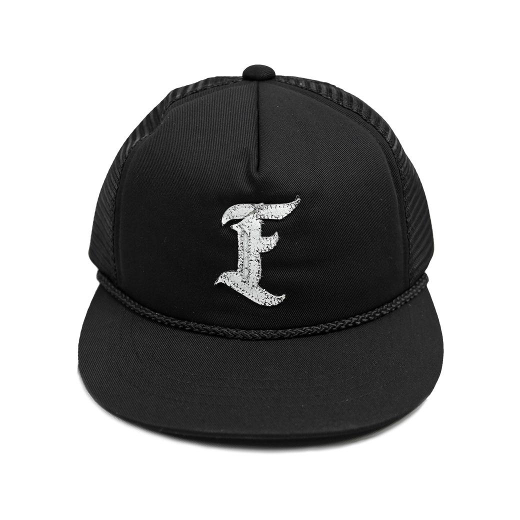 FUXURY F TRUCKER HAT BLACK